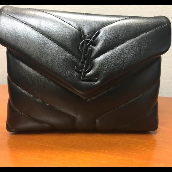 75fc2e1cdc YSL Loulou Monogram Mini V -Flap Calf Leather. M_5b31081604e33d3f26eb221c.  Other Bags you may like. Saint Laurent ...